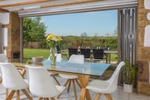 Dining with Bifolds & Terrace