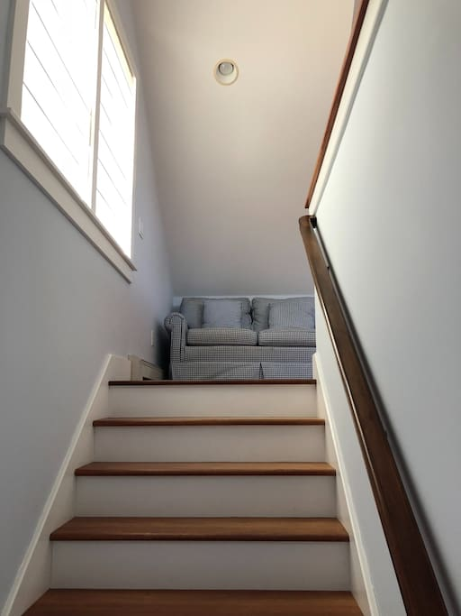 Stairs to the studio