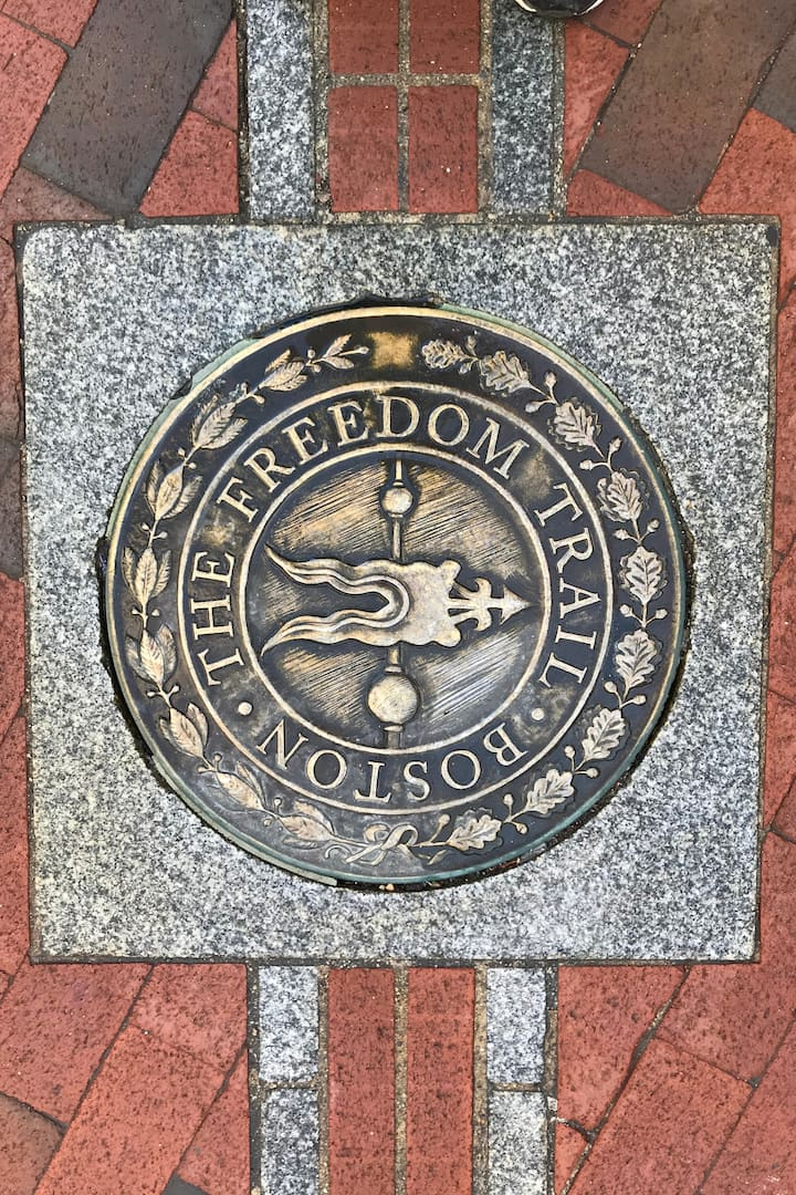 We will take in the Freedom Trail