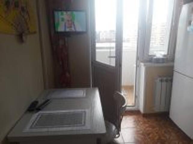кухня, есть кабельное TV