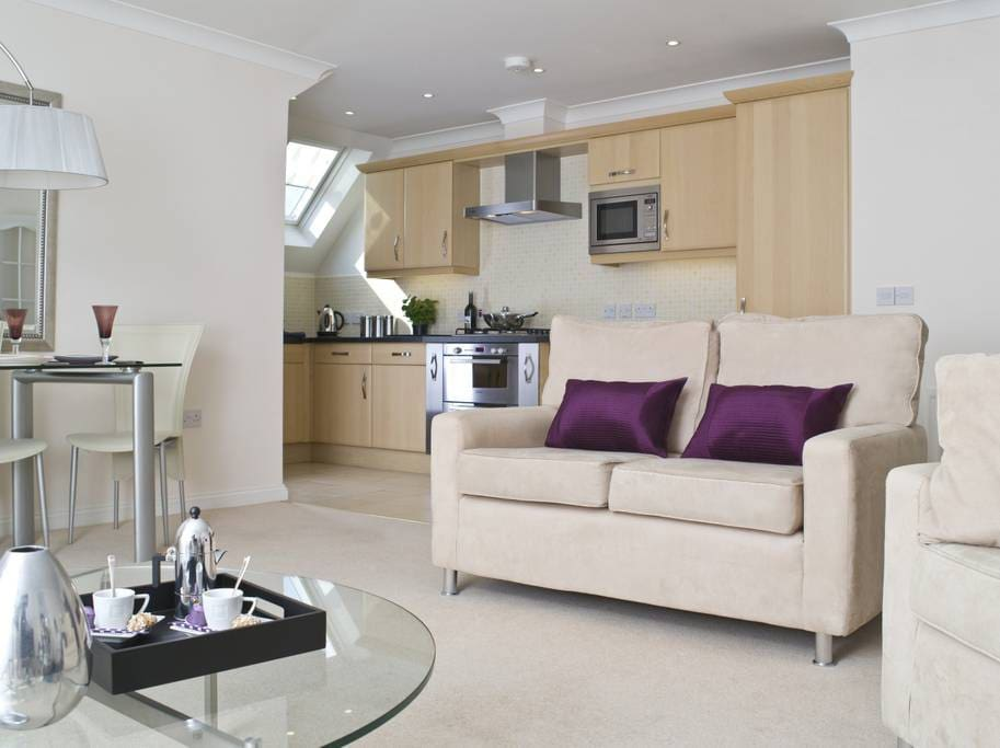 We have number of apartments in Gray Place, and the photos here are an example of the standard, and furnishings.
