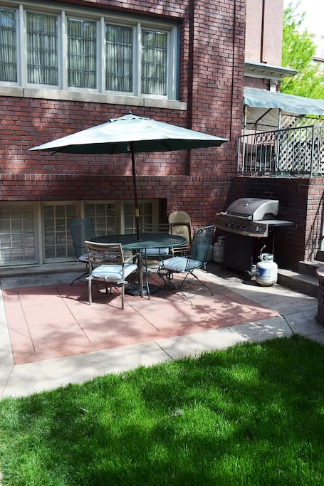 Patio for your enjoyment