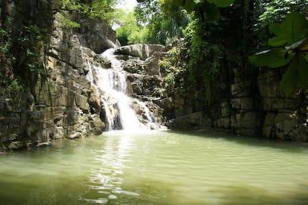 Waterfall Último Brinco Camping - Sátor