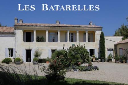 Les Batarelles + La Petite Maison ( 2 nuits mini - Villenave-de-Rions - House