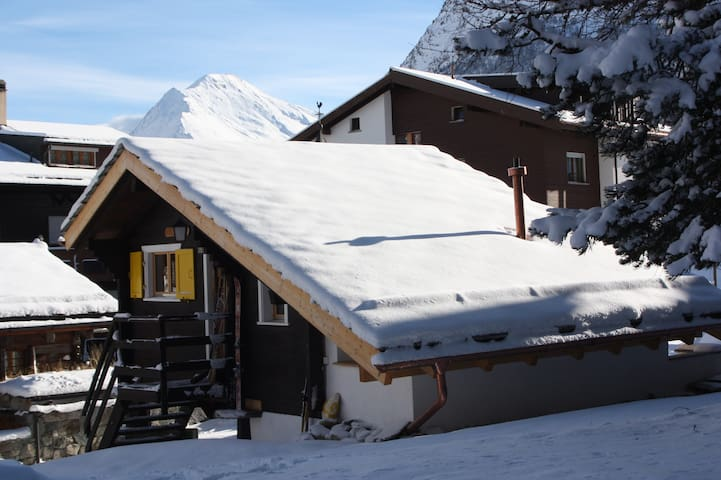 Le Mazot No.7*** Romantic Chalet for 2 - Saas-Fee