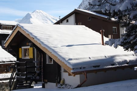 Le Mazot No.7  ***  Romantikchalet für 2 - Saas-Fee - Hut