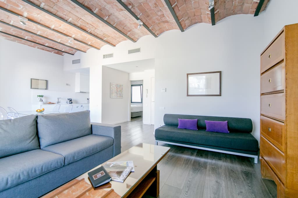One Bedroom Apartment Deco Apartments For Rent In Barcelona Catalunya Spain