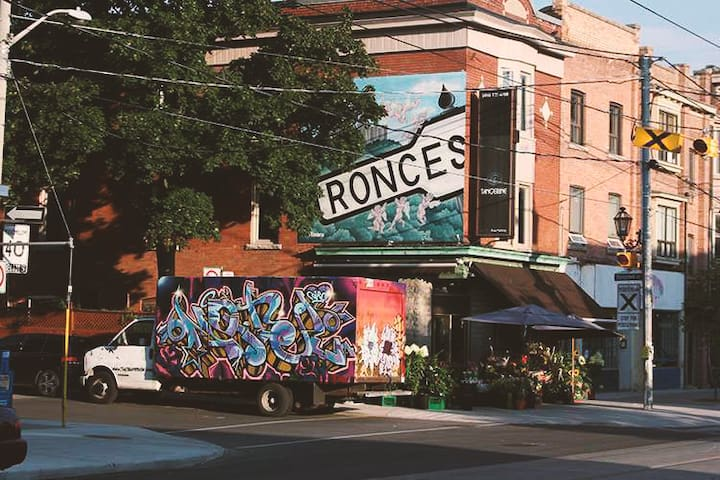 Roncesvalles Av. - Coolest Neighborhood Toronto !