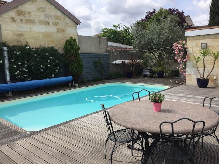 Chambre privée proche Bordeaux