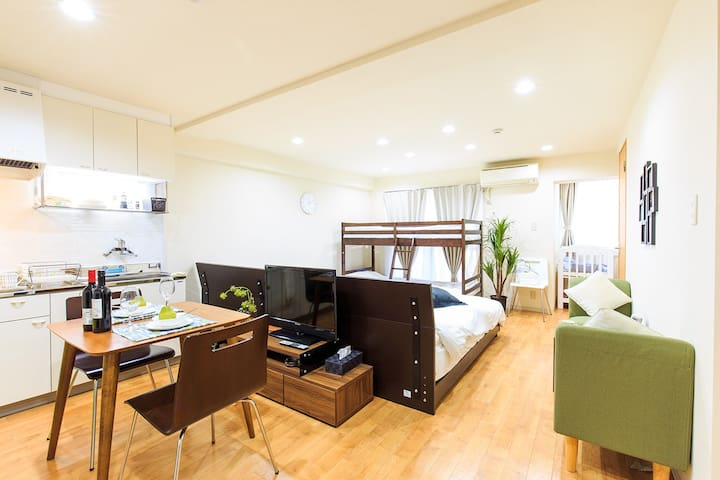 #205☆POP★10min to Nagoya Sta/located in downown
