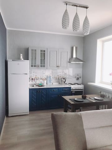 Modern apartment 50 sq m, 20 minutes from center!