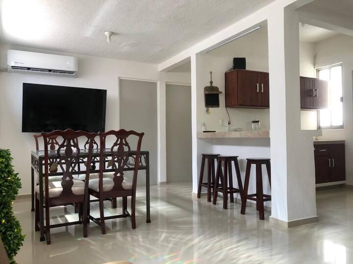 Casa climatizada mejor ubicación estancias largas
