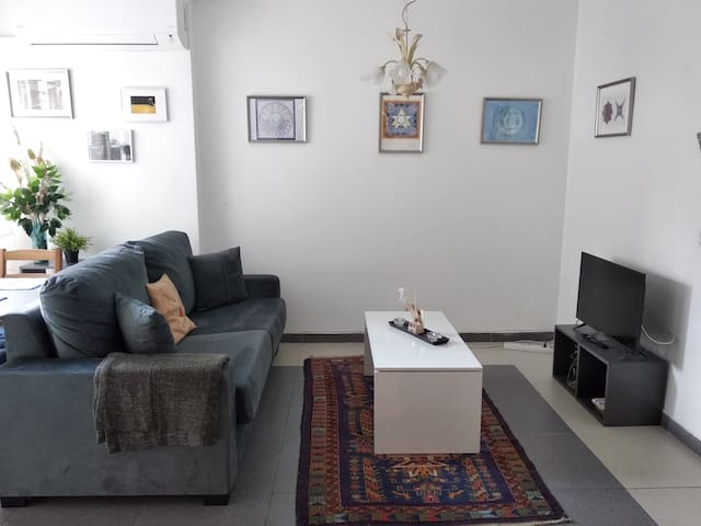 Salón. Living room.