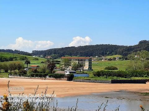 Apartamento con muy buena vista a 2 km de Luanco