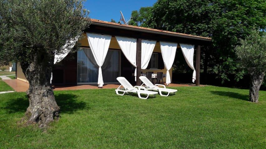 Typical italian villa in relax nature near sea