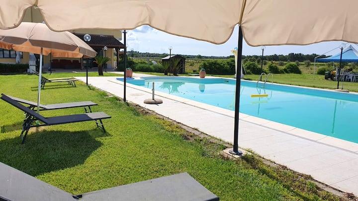 Bungalow con accesso piscina