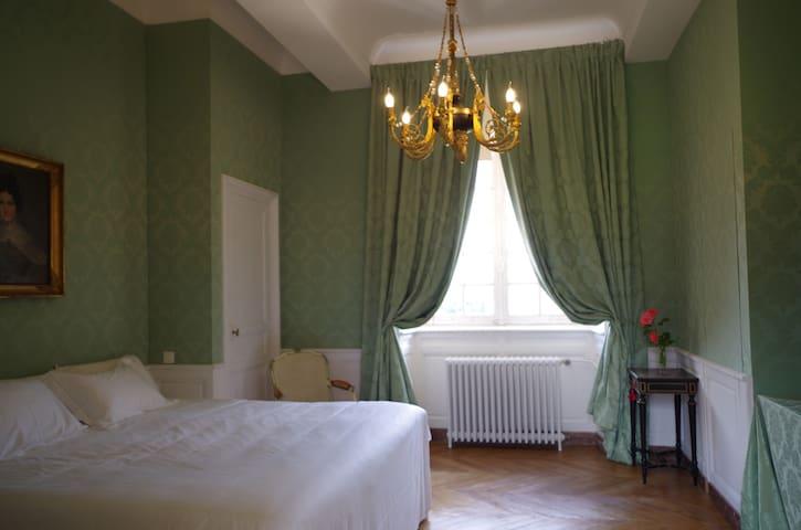 Chambre verte - Château du Bocage - Villers-Bocage - Castle