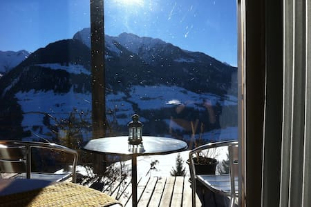 Studio with view into the mountains - Lumnezia