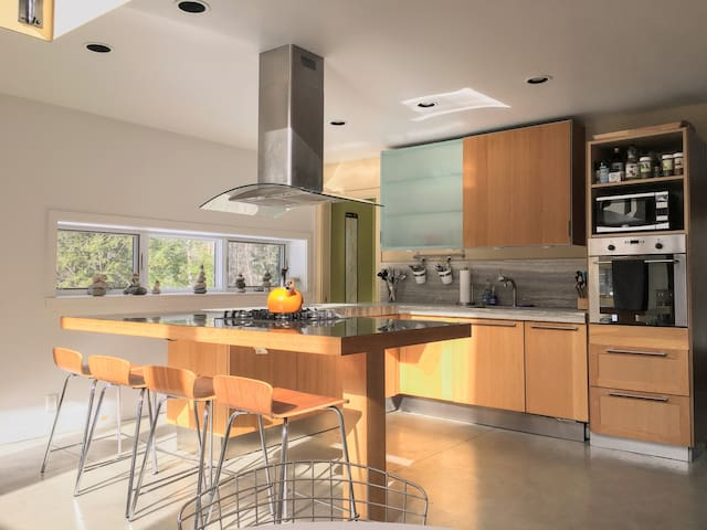 Fully furnished, state-of-the-art kitchen