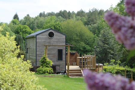 Tiny House, en Normandie, et son Bain Nordique
