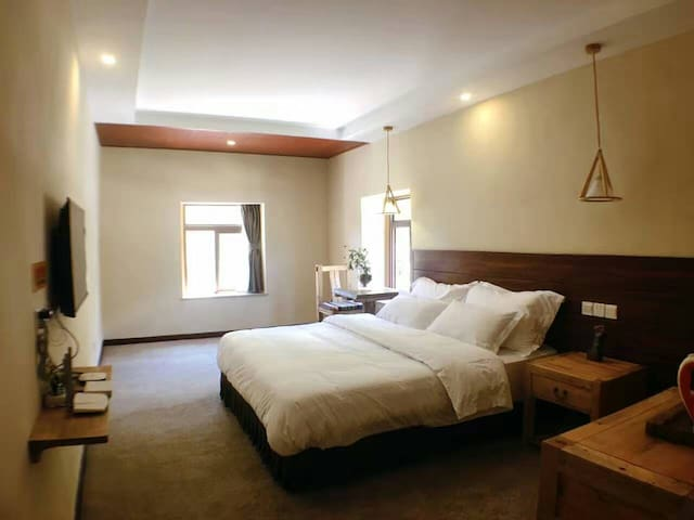 甘孜稻城亚丁仁村-阿妈民居-摄影主题酒店 - Ganzi Zangzuzizhizhou - Guesthouse