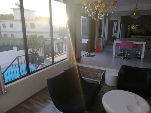 100% private modern design villa with amazing view
