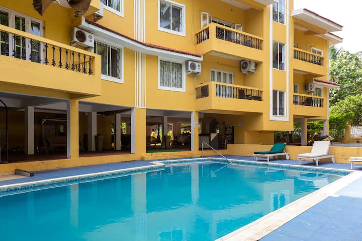 Dona Karen Candolim 2bhk- Pool Facing - Phase 1