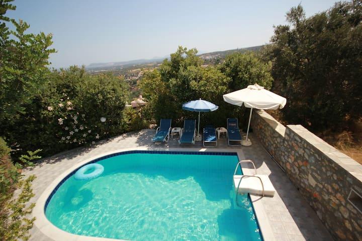 Villa Francesca  EOT licence MHTE(PHONE NUMBER HIDDEN) - Agia Triada - Haus