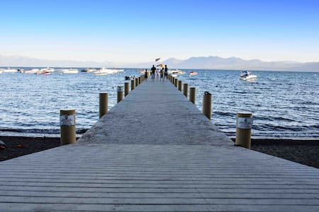 Dollar Point, 200ft from beach! - Tahoe City