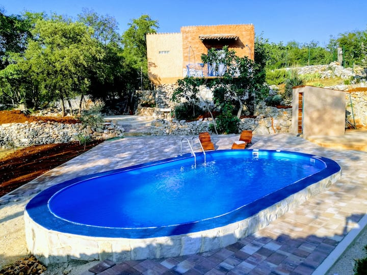 Atelier Filozići with pool Island Cres Corona free