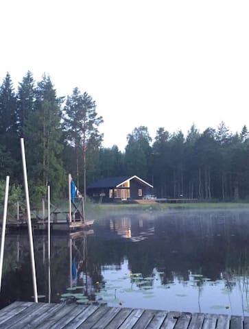 Lovely little house by lake Öjaren/Högbo Bruk
