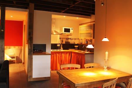 Gezellig apartement in gehucht - Anost