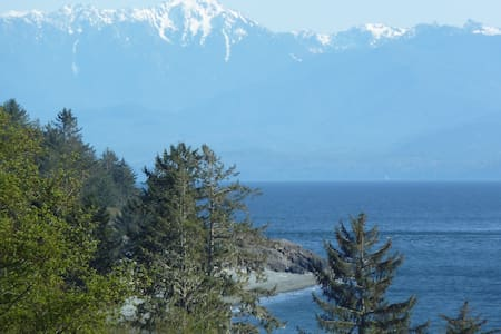 Ocean Oasis + 6 acres with maginificent views - Sooke