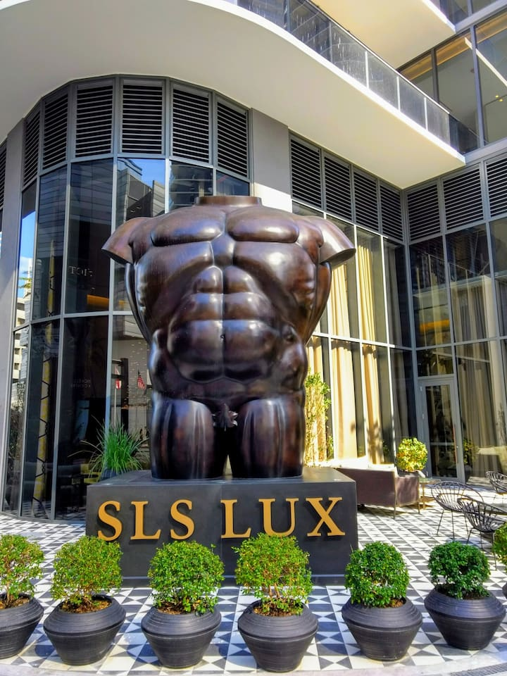 Front Entrance Art Sculpture by Fernando Botero