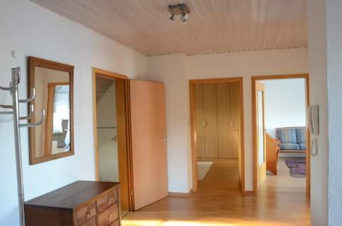 Wunstorfの真ん中にあるリンデンアレのアパート