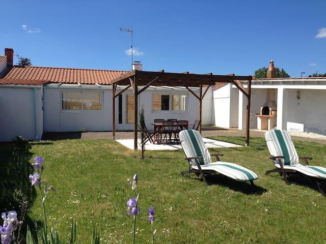 Maison 5 pers. proche des plages Vendée Sud