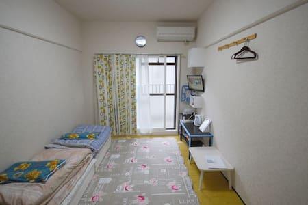 지하철역에서 230미터 17㎡!현지인의 원룸! - Higashi Ward, Fukuoka - Appartement