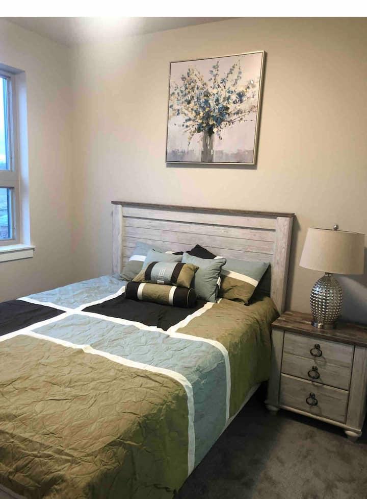 Beautiful Townhome bedroom