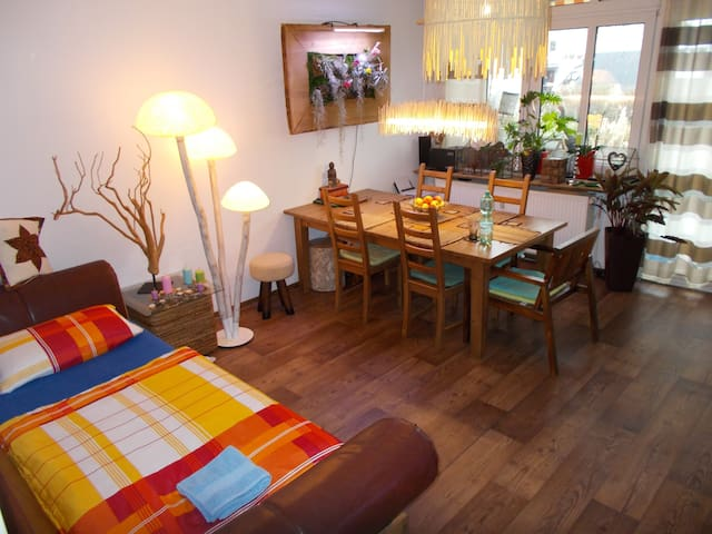 Room with garden in Gallus - Frankfurt - Bed & Breakfast