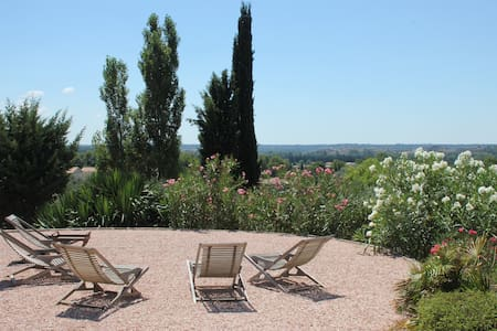 Amazing view, large comfortable house for holidays - Paradou