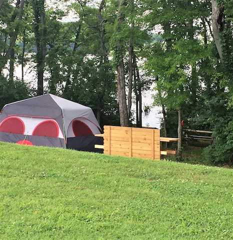 Waterfront Glamping: Weekend at Bernie's