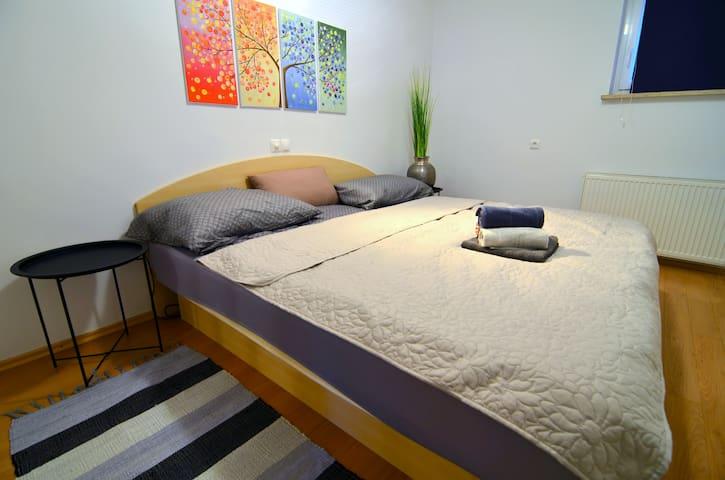 Waterbed bedroom