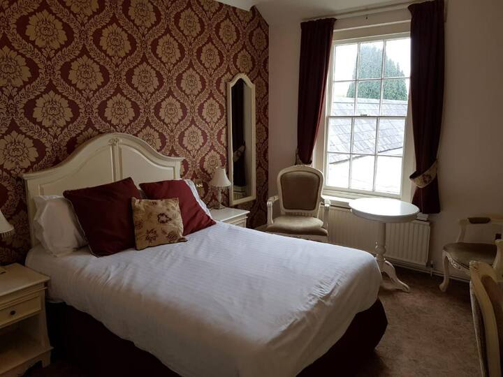 The Feathers, Double Room, no breakfast (Rm 14)