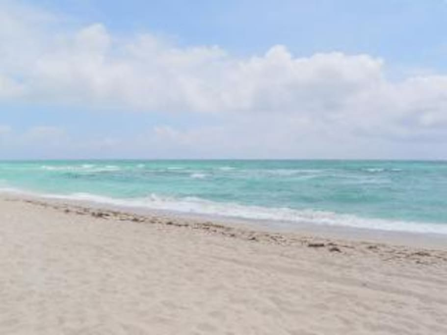 Marenas Resort is located on a 2mile stretch of white sand and beach, convenient for an early jog