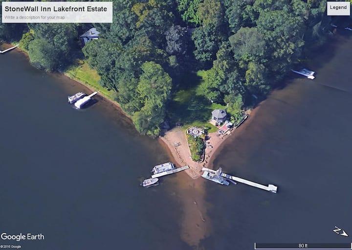 Private Sandy Beach 4 Bdrms  Quite Lake-Stillwater