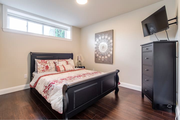 New: Private Burnaby Suite