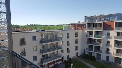 Nice appartment 1 bedroom+1 living room, 1-4 pax