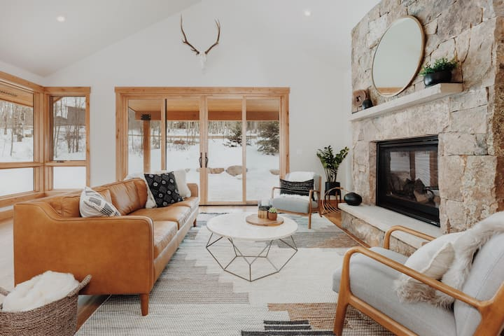 The Ramsey Retreat - NEW luxury mountain cabin!