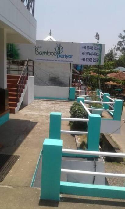 Aathi Bamboo Periyar Entrance