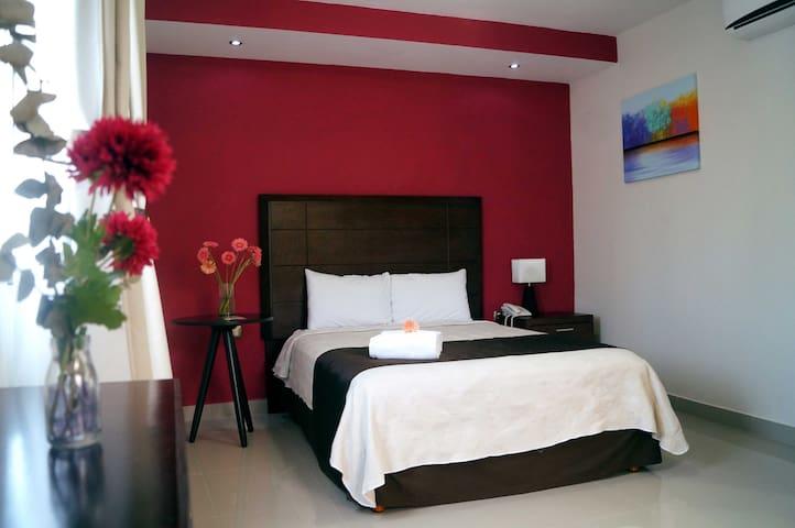 Confortable habitación Casa Palomino Hotel